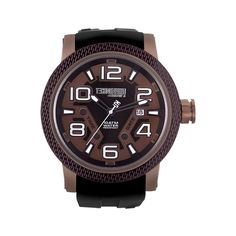 Technosport TS6-3000-4 Unisex Watch Taupe Dial With Black Integrated Strap