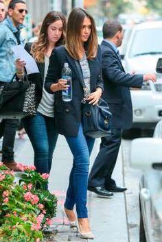 La actriz y empresaria sabe llevar su agenda con estilo, sin importa si se trata de una reunión de n... - Getty Images y Especial
