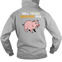 This is a great gift for Pig lovers Trade brother for Pig back Tee Shirts T-Shirts