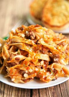 Beef Dishes, Pasta Dishes, Food Dishes, Main Dishes, Hamburger Dishes, Rice Pasta, Amish Country Casserole Recipe, Amish Recipes, Cooking Recipes