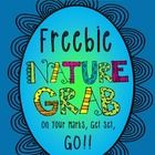 NATURE GRAB.....on your marks, get set, GO!  This is a fun, fast, hands on version of the traditional nature walk scavenger hunt!    Children cut a...