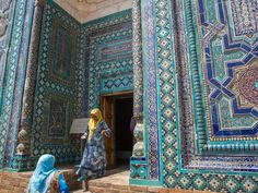 While it may not be the first place you'd pick for a vacation abroad, Samarkand is a standout with intricately tiled buildings and colorfully dressed locals. It also has a rich history as a Silk Road stopping point.