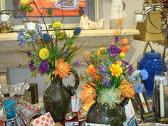 Colorful and casually elegant permanent botanicals from Persimmon Lane!