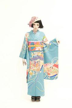 清原さんお着物撮影 続きです。の画像   ダリヘアデザイン 高島の靭公園から徒然と