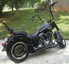 Harley Davidson. Fatboy. Ape Hanger