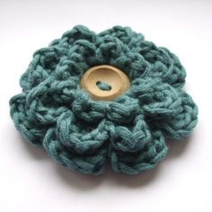 "Free pattern for ""Frothy Flower""!"