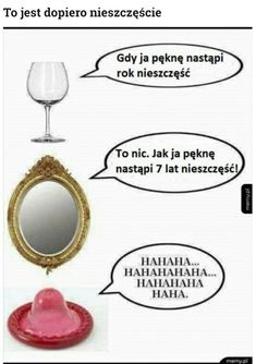 Memy po Polsku Nieszczęście #nieszczęście#lusterko#kieliszek#mem#polskie_memy Very Funny Memes, Wtf Funny, Funny Jokes, Hilarious, Miraculous, Polish Memes, Weekend Humor, Mickey Mouse Wallpaper, Funny Mems