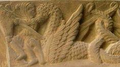 Marduk fighting Tiamat monster - Mesopotamia; source: http://el-libertario.webnode.es/en/reptilian-gods/