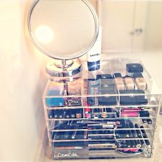 Perfect organizer for makeup and skin care
