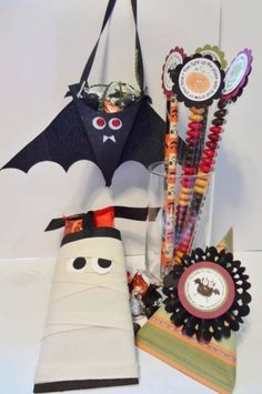 Halloween Treats Class by lizzier - Cards and Paper Crafts at Splitcoaststampers