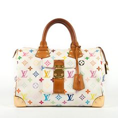 Louis Vuitton Multicolor Speedy, White and I have this one too