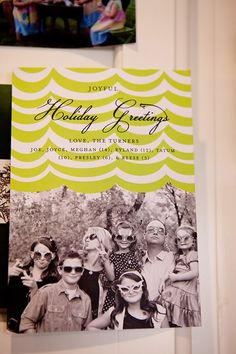 tons of cool Christmas card ideas