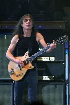 AC/DC retirement rumors center on founding guitarist Malcolm Young's health..
