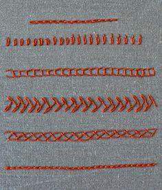 the chain stitch tutorial