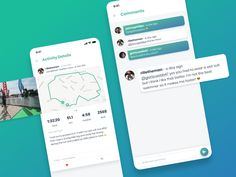 MoveStreak - Activity Details & Comments designed by Richard Wålander. Connect with them on Dribbble; Peterborough, Saint Charles, San Luis Obispo, Show And Tell, Activities, Apps, Training, Marina Del Rey, Work Outs