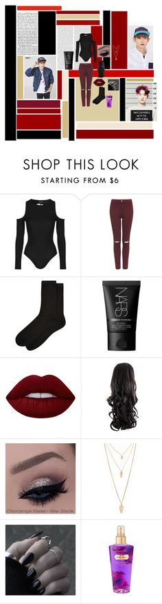 """""""What if...~ Chanyeol (Park Chanyeol)"""" by taejin-seokhyung ❤ liked on Polyvore featuring Topshop, Accessorize, NARS Cosmetics, Lime Crime, Forever 21 and Victoria's Secret"""
