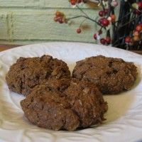 GF Pumpkin Cookie Recipe--uses a full can of pumpkin, so you don't waste any Gluten Free Pumpkin Cookies, Pumpkin Cookie Recipe, Gluten Free Treats, Gluten Free Baking, Gluten Free Desserts, Vegan Desserts, Vegan Gluten Free, Gluten Free Recipes, My Recipes