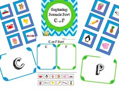 beginning sounds sort: free