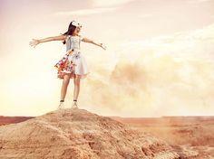 Les #enfants du #vent by Catimini #désert #ocre #liberté #mode Printemps été 2014 Shooting Catimini#fashion #kids