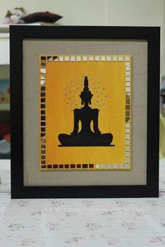 Clay Wall Art, Mural Wall Art, Murals, Mirror Crafts, Mirror Art, Indian Art Paintings, Colorful Paintings, Art N Craft, Diy Art