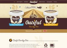 Oatiful in Retro Style in Web Design Web Design Blog, Web Design Examples, Design Websites, App Design, Web Design Inspiration, Design Trends, Design Styles, Design Ideas, Beautiful Website Design