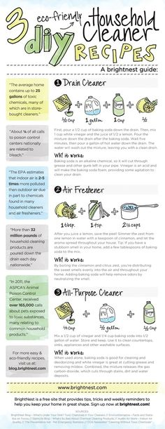Eco-Friendly DIY Cleaning Solutions | Brightnest | The Tao of Dana