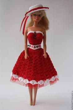 Купить Сарафанчики! - барби, одежда для кукол, подарок девочке, игрушки, ярко-красный