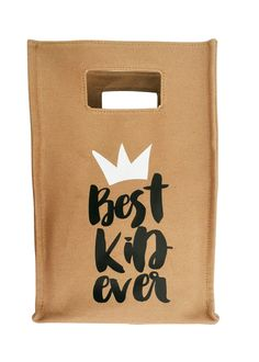 Best Kid Ever Lunch Tote