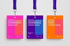 Peru Design Net on Branding Served Gafetes Invite Design, Name Tag Design, Id Card Design, Ticket Design, Design Poster, Badge Design, Design Net, Id Design, Design Logo