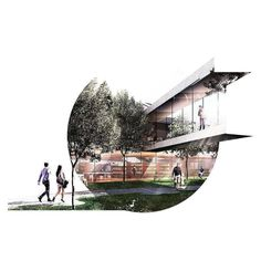 sometimes a cutout speak more than a full bleed // ___________________ // __________________ Architecture Concept Diagram, Architecture Graphics, Architecture Drawings, Architecture Portfolio, Landscape Architecture, Landscape Design, Architecture Design, Presentation Board Design, Architecture Presentation Board