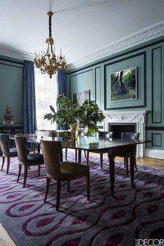 Таунхаус в Лондоне - воплощение изысканного стиля | Пуфик - блог о дизайне интерьера