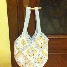 Granny square bag..