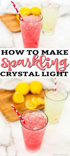 Sparkling Crystal Light Recipe!
