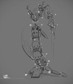 by on DeviantArt – Animation ideas Animation Storyboard, Animation Sketches, Animation Reference, Art Reference Poses, Art Sketches, Frame Animation, Animation Background, Anim Gif, Principles Of Animation