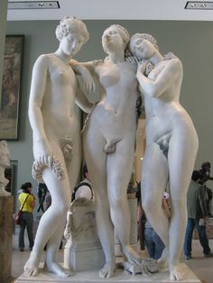 Even the ancient Greeks had Trans* in there society, this sculpture is in the Louvre, Paris