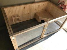 #rabbithouses Indoor Guinea Pig Cage, Indoor Rabbit House, Indoor Rabbit Cage, Bunny Cages, Rabbit Cages, Rabbit Pen, Pet Rabbit, Rabbit Habitat, Rabbit Enclosure