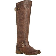 STEVE MADDEN Lynet Leather Knee-High Boots and other apparel, accessories and trends. Browse and shop 19 related looks.