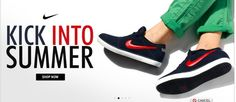Buy Nike T-Shirts, Nike Shoes Online in India at Discount Price  SUMMER COLLECTION Buy wide range of Nike sports shoes, Nike backpacks, Nike jackets, Nike shorts, Nike T-shirts for men, women & kids from Myntra, the best online shopping site in India.  Grab the best deal to buy for fashion accessories with complete satisfaction for your online shopping experience. To change your style statement visit Discount Coupon Wala to get lots of Myntra Coupon and enjoy online shopping.