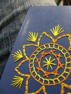 Embroidered Planner - NEEDLEWORK