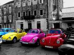 Colorful #VW Bugs