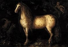 The dapple-grey by Roelant Savery ( The artist was b orn in Courtray in Flanders and grew up in Haarlem in Holland. Renaissance, Oil Painting Gallery, Google Art Project, Your Spirit Animal, Nagasaki, Dutch Artists, Utrecht, Horse Art, Beautiful Horses
