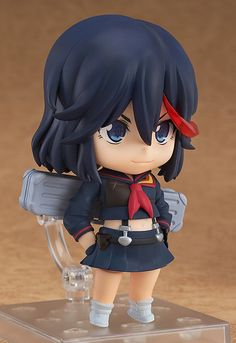 This super adorable nendoroid figure of Kill la Kill's Ryuko Matoi stands at 10cm tall and comes with many customizable components such as her scissor blade. From her fierce battle pose to an embarras