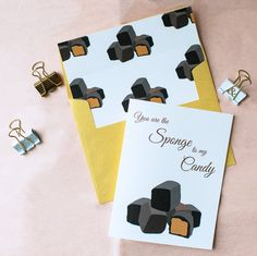 Rock Candie Designs You Are The Sponge To My Candy Card is a cute Buffalo Themed Greeting Card to give to someone from Buffalo, New York. Spread the Buffalove