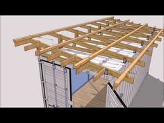 Roof kit insulation for shipping container Roof kit insulation for shipping container - Shipping Container Home Designs Shipping Container Buildings, Shipping Container Home Designs, Shipping Container House Plans, Shipping Containers, Sea Containers, Container Conversions, Container Shop, Cargo Container, Container Architecture