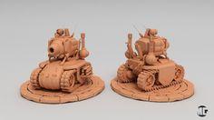 ArtStation - Metal slug Tank , Omega Vfx