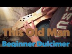 Here's a dulcimer lesson on This Old Man. I take you through several versions of this using several strumming and flat picking techniques. For the tabs to th. Dulcimer Music, Mountain Dulcimer, Folder Labels, Old Men, Play, Learning, Friends, Videos, Youtube