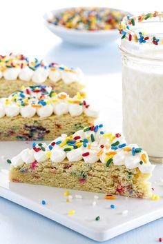 Funfetti Sugar Cookie Bars are Pure Happiness