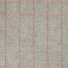 Our Herringbone Wool Tweed in a Grey & Red Check design is perfect for upholstery projects. Please check that you are happy with your fabric before cutting or altering it in any way. We cannot accept responsibility for the fabric once it has been cut. Tweed Fabric, Silk Fabric, Check Curtains, Susie Watson, Herringbone Fabric, Dupion Silk, Dream Home Design, House Design, Curtain Fabric