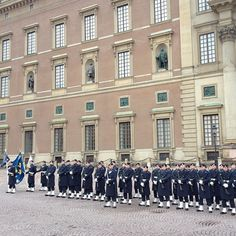 Royal Palace - Kungliga Slottet in Stockholm, Storstockholm  free changing of the guards on Sunday at 1:15pm