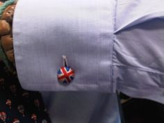 Cufflinks and god save the queen!